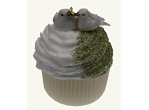 Aroma Forma Fun Soaps Wedding Doves Soap cup cake